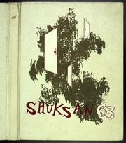 1963 Edition, Bellingham High School - Shuksan Yearbook (Bellingham, WA)