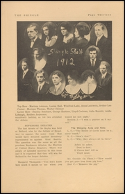 Page 15, 1912 Edition, Ballard High School - Shingle Yearbook (Seattle, WA) online yearbook collection