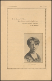 Page 9, 1912 Edition, Ballard High School - Shingle Yearbook (Seattle, WA) online yearbook collection