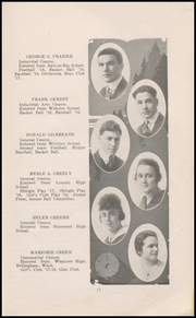 Page 15, 1918 Edition, Ballard High School - Shingle Yearbook (Seattle, WA) online yearbook collection
