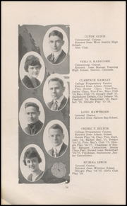 Page 16, 1918 Edition, Ballard High School - Shingle Yearbook (Seattle, WA) online yearbook collection