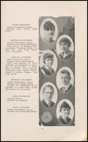 Page 17, 1918 Edition, Ballard High School - Shingle Yearbook (Seattle, WA) online yearbook collection