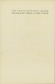 Page 12, 1931 Edition, Ballard High School - Shingle Yearbook (Seattle, WA) online yearbook collection