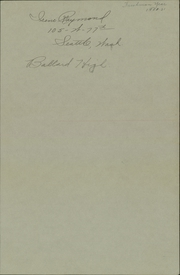 Page 3, 1931 Edition, Ballard High School - Shingle Yearbook (Seattle, WA) online yearbook collection