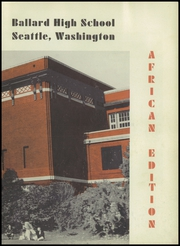 Page 7, 1951 Edition, Ballard High School - Shingle Yearbook (Seattle, WA) online yearbook collection