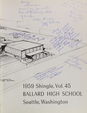 Page 7, 1959 Edition, Ballard High School - Shingle Yearbook (Seattle, WA) online yearbook collection
