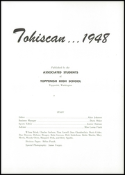 Page 5, 1948 Edition, Toppenish Senior High School - Tohiscan Yearbook (Toppenish, WA) online yearbook collection