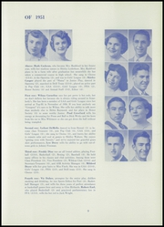Page 17, 1951 Edition, Toppenish Senior High School - Tohiscan Yearbook (Toppenish, WA) online yearbook collection