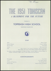 Page 5, 1951 Edition, Toppenish Senior High School - Tohiscan Yearbook (Toppenish, WA) online yearbook collection