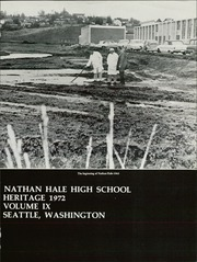 Page 5, 1972 Edition, Nathan Hale High School - Heritage Yearbook (Seattle, WA) online yearbook collection