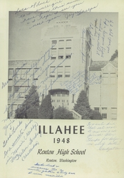 Page 5, 1948 Edition, Renton High School - Illahee Yearbook (Renton, WA) online yearbook collection