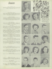 Page 17, 1949 Edition, Renton High School - Illahee Yearbook (Renton, WA) online yearbook collection
