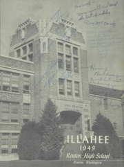 Page 5, 1949 Edition, Renton High School - Illahee Yearbook (Renton, WA) online yearbook collection