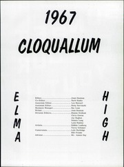 Page 3, 1967 Edition, Elma High School - Cloquallum Yearbook (Elma, WA) online yearbook collection