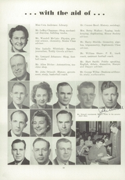 Page 14, 1949 Edition, Port Angeles High School - Tum Tum Yearbook (Port Angeles, WA) online yearbook collection