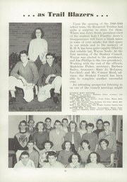 Page 16, 1949 Edition, Port Angeles High School - Tum Tum Yearbook (Port Angeles, WA) online yearbook collection
