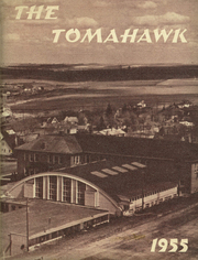 1955 Edition, Wilbur High School - Tomahawk Yearbook (Wilbur, WA)