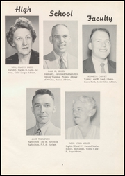 Page 9, 1957 Edition, Wilbur High School - Tomahawk Yearbook (Wilbur, WA) online yearbook collection