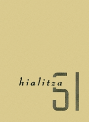 1951 Edition, Throp High School - Hialitza Yearbook (Throp, WA)
