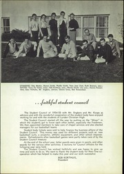 Page 11, 1955 Edition, Lynden Christian School - Excelsior Yearbook (Lynden, WA) online yearbook collection