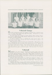 Page 127, 1930 Edition, Lincoln High School - Lincolnian Yearbook (Tacoma, WA) online yearbook collection