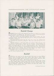 Page 129, 1930 Edition, Lincoln High School - Lincolnian Yearbook (Tacoma, WA) online yearbook collection