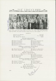 Page 14, 1931 Edition, Lincoln High School - Lincolnian Yearbook (Tacoma, WA) online yearbook collection
