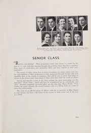 Page 15, 1933 Edition, Lincoln High School - Lincolnian Yearbook (Tacoma, WA) online yearbook collection