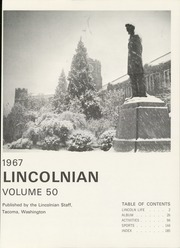 Page 5, 1967 Edition, Lincoln High School - Lincolnian Yearbook (Tacoma, WA) online yearbook collection