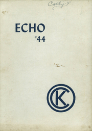 Page 1, 1944 Edition, Central Kitsap High School - Echo Yearbook (Silverdale, WA) online yearbook collection