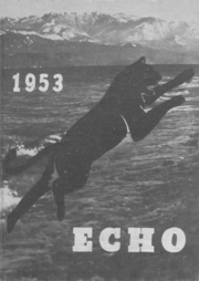 Page 1, 1953 Edition, Central Kitsap High School - Echo Yearbook (Silverdale, WA) online yearbook collection