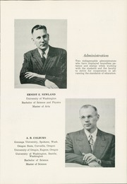 Page 11, 1953 Edition, Omak High School - Omache Yearbook (Omak, WA) online yearbook collection