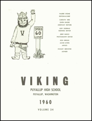 Page 5, 1960 Edition, Puyallup High School - Viking Yearbook (Puyallup, WA) online yearbook collection