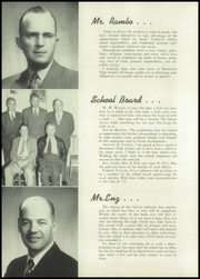 Page 12, 1952 Edition, Montesano High School - Sylvan Yearbook (Montesano, WA) online yearbook collection