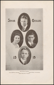Page 17, 1919 Edition, Queen Anne High School - Grizzly Yearbook (Seattle, WA) online yearbook collection