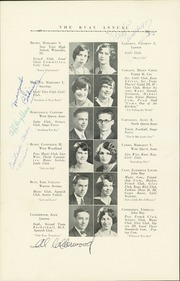 Page 24, 1929 Edition, Queen Anne High School - Grizzly Yearbook (Seattle, WA) online yearbook collection
