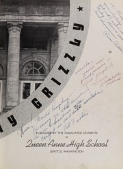 Page 7, 1937 Edition, Queen Anne High School - Grizzly Yearbook (Seattle, WA) online yearbook collection