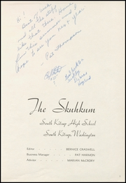 Page 7, 1948 Edition, South Kitsap High School - Skuhkum Yearbook (Port Orchard, WA) online yearbook collection
