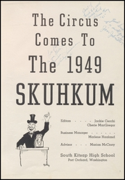 Page 5, 1949 Edition, South Kitsap High School - Skuhkum Yearbook (Port Orchard, WA) online yearbook collection