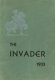 1933 Edition, Auburn High School - Invader Yearbook (Auburn, WA)