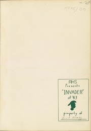 Page 3, 1943 Edition, Auburn High School - Invader Yearbook (Auburn, WA) online yearbook collection