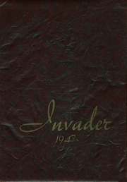 1947 Edition, Auburn High School - Invader Yearbook (Auburn, WA)