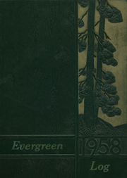 1958 Edition, Evergreen High School - Log Yearbook (Vancouver, WA)