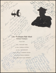 Page 7, 1946 Edition, Lake Washington High School - Reveille Yearbook (Kirkland, WA) online yearbook collection