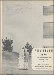 Page 5, 1950 Edition, Lake Washington High School - Reveille Yearbook (Kirkland, WA) online yearbook collection