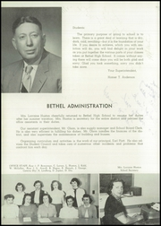 Page 10, 1954 Edition, Bethel High School - Bethelonian Yearbook (Spanaway, WA) online yearbook collection