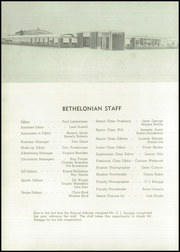 Page 6, 1954 Edition, Bethel High School - Bethelonian Yearbook (Spanaway, WA) online yearbook collection