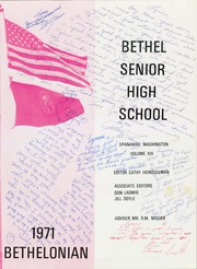 Page 5, 1971 Edition, Bethel High School - Bethelonian Yearbook (Spanaway, WA) online yearbook collection