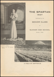 Page 5, 1937 Edition, Sumner High School - Spartan Yearbook (Sumner, WA) online yearbook collection