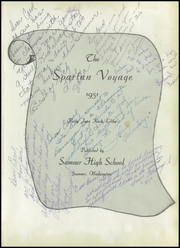 Page 5, 1951 Edition, Sumner High School - Spartan Yearbook (Sumner, WA) online yearbook collection